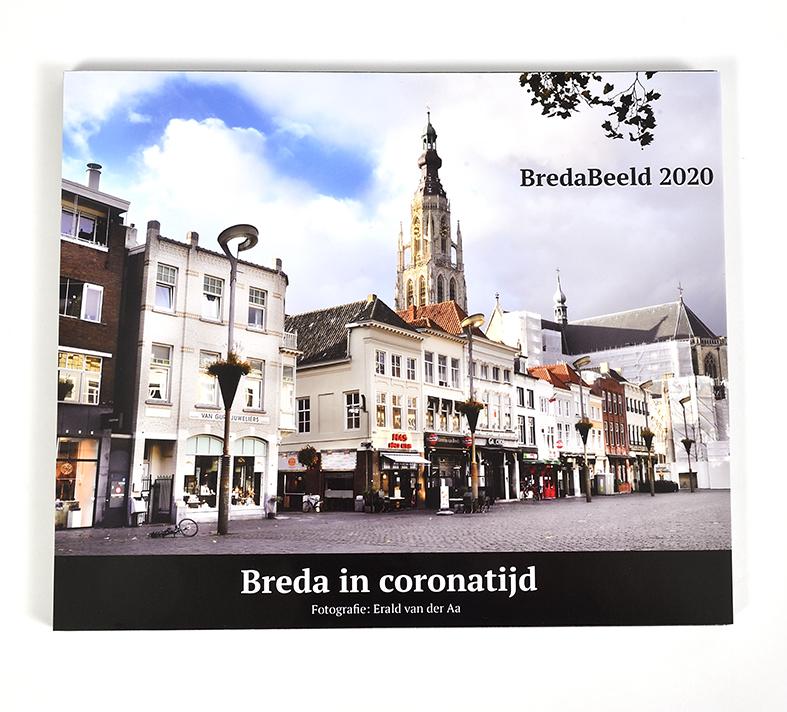 Fotoboek Breda in Coronatijd. incl € 5,- verzend & verpakkingskosten.